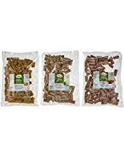 Makana smakołyki 3-częściowy zestaw: jabłko, banan, marchewka / przekąski dla koni, (opakowanie ekonomiczne 3 x 1 kg)