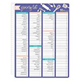 Erin Condren Designer Accessories Snap - in Wet Erase Dashboard for Grocery Lists to Help Plan Meals. Laminated Reusable Whiteboard for Dry and Wet Erase Markers