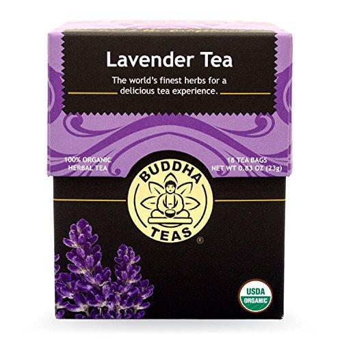 Buddha Teas Lavender Tea, 18 Count (Pack of 6)