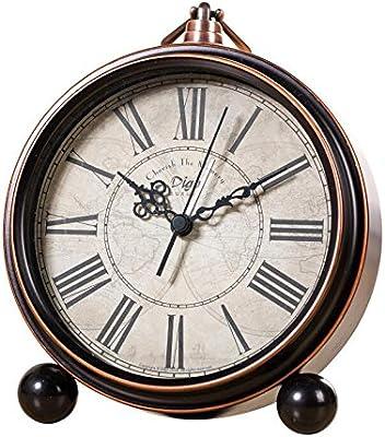 QXbecky Réveil électronique, Horloge créative, Horloge rétro