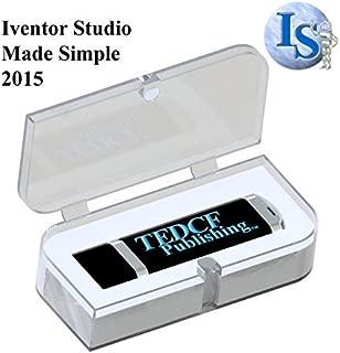 Autodesk Inventor 2015 Training Tutorial – Inventor Studio Made Simple USB: 3+ Hours of Instruction