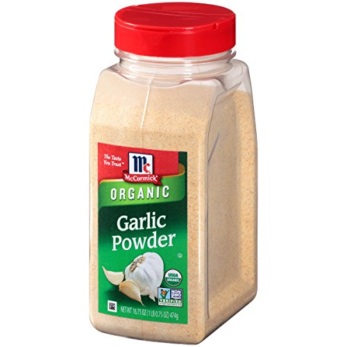 McCormick Garlic Powder (Organic, Non-GMO, Kosher), 16.75 oz