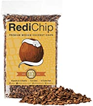 RediChip Coconut Chip Substrate for Reptiles 12 Quart Loose Medium Sized Coconut Husk Chip Reptile Bedding