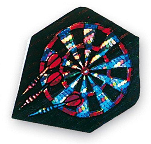 Unicorn Core 75 Dart Flights Plus 75 Micron Hologramm Dartboard
