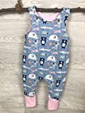 Strampler blau Einhorn Hose, einteiler, strampelanzug, latzhose, Erstausstattung