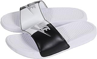 d817b5a1e156 Amazon.com  White - Sport Sandals   Slides   Athletic  Clothing ...