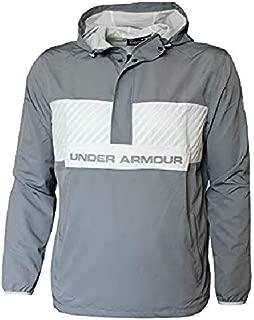 Under Armour Men's Windbreaker Shell Pullover Hooded Jacket Hoodie