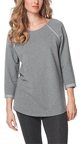 Bellivalini Premamá Blusa Camiseta Lactancia Maternidad Mujer BLV50-121 (Melange, S)