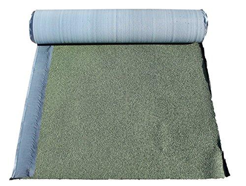 Guaina Bituminosa Ardesiata - Autoadesiva e Impermeabilizzante - ROTOLO DA 10 METRI - alta prestazione - Colore Verde