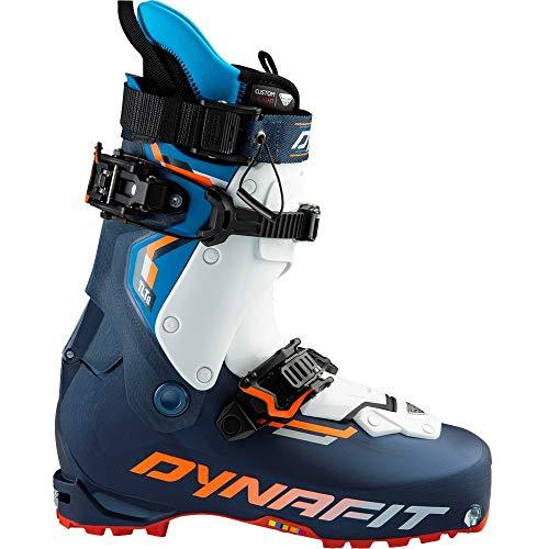 DYNAFIT M Tlt8 Expedition CL Boot Blau-Orange, Herren Touren-Skischuh, Größe EU 44 - Farbe Poseidon - Fluo Orange