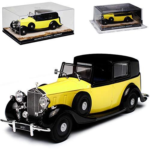 Rols-Royce Phantom III Goldfinger James Bond 007 1/43 Ixo Modell Auto