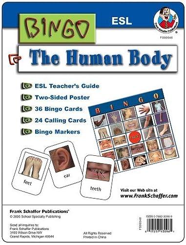 ESL Bingo Game  Human Body by School Specialty Publishing (2005-05-02)