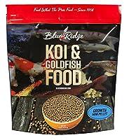 5 Pound Mini Pellet Growth Formula Koi & Goldfish Pellet Food by Blue Ridge Fish Hatchery
