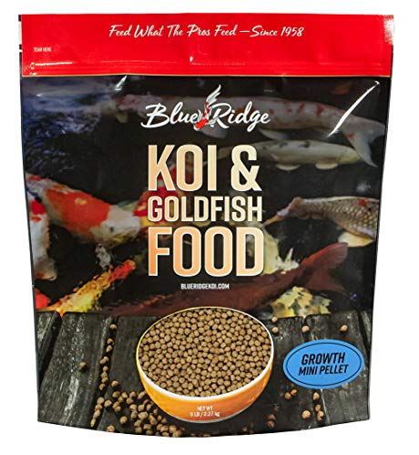 Blue Ridge Fish Food Pellets