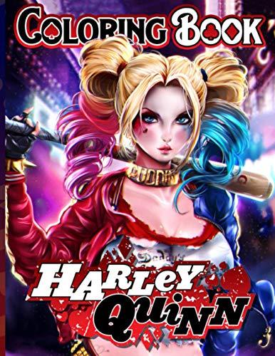 51ZgBTq0X7L Harley Quinn Coloring Books
