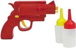cococity 3 Pcs 240ml Bottiglia di Salsa di Plastica Bottiglie Squeeze Condimento Contenitore Dispenser per Olio Ketchup Senape Miele Condimenti