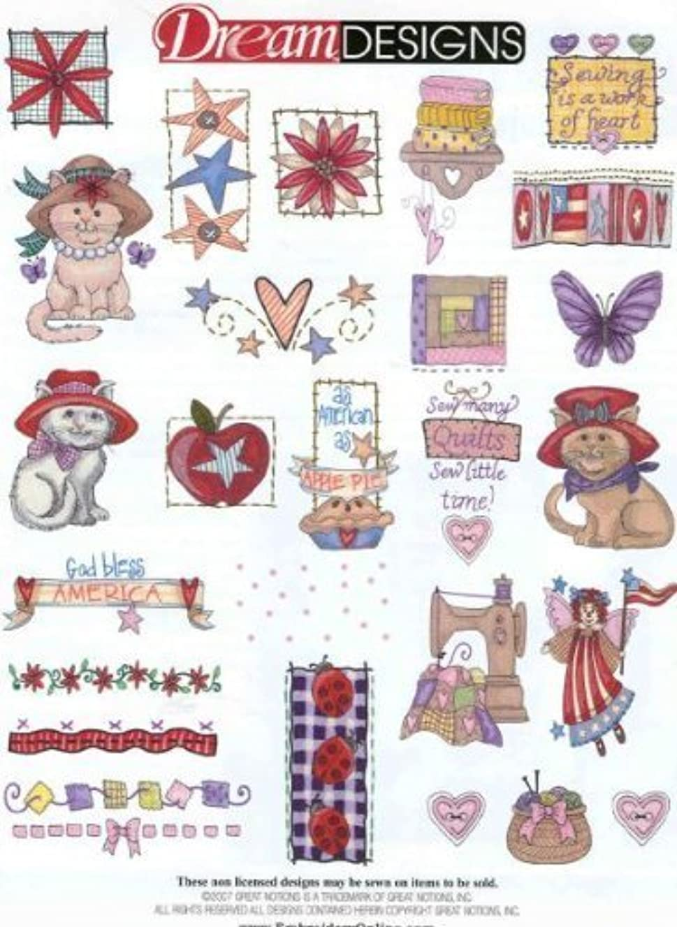 QUILT SAMPLER Embroidery Machine Designs CD