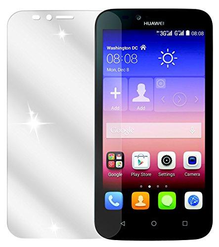 dipos I 2X Schutzfolie klar kompatibel mit Huawei Y625 Folie Bildschirmschutzfolie