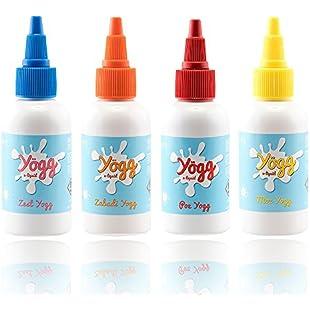 YOGG - NO NICOTINE - 50ml Shortfill E Liquid 0mg [ Yogurt , Mango , Vanilla , Pomegranate , Hibiscus , Raspberry , Tropical Fruit ] High VG Cloud Chasing Dessert Milk Flavour Liquids (Zest)