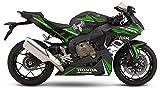 Motostick Graphics Kit de calcomanías compatible con Honda CBR1000RR Fireblade 2017-2019 'Venom' (verde)