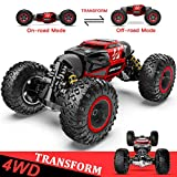 BEZGAR RC Car, 4X4 Kids Off Road 1:14 Large Size Transform Remote Control Car High Speed Fast Racing Monster...