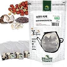 [Medicinal Korean Herb Tea] 100% Natural Sleep Enhancement Tea - Roasted Zizyphi Semen Preparata, Poria Cocos ??? ?? - ?? ???, ??? 40g / 15 Teabags