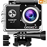 ORSKEY Action Camera 1080P Wifi...