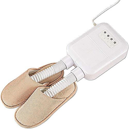 Fikujap Secadora de Botas, desinfectante de Botas, Elimina los Zapatos de Mal Olor y desinfección, el secador de Guantes, se Adapta a Cualquier tamaño de Zapato, Secado rápido para Zapatos, Guantes