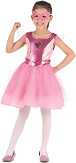 Pink Spider Girl Costume-Child Halloween Christmas Party Cosplay Skirt Costumes with Mask