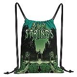 Fairy UMI Bolsas de cuerdas Billy Strings Mochila con cordón Bolsa deportiva...