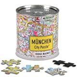 Extragoods City Puzzle Magnets - München