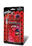 Kids- Ladybug Set papelería 4 Piezas, 24 x 14 cm (LY17079)