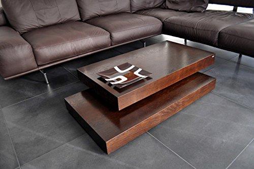 Design Couchtisch Tisch S-60 Walnuss/Wenge Carl Svensson