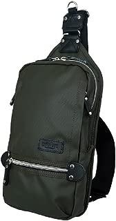 Harvest Label Urban Sling Mono Sling Travel Daypack Backpack - Olive