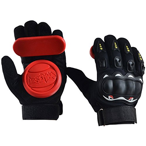 Forfar Skateboard Handschuhe Protektor Armschutz Dickere Foam Downhill Freeride Slide Sliding Schutz Palm Slider Safety Guard Gemütlich