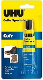 Colle Spéciale Cuir & Chaussures 30g / 33ml, Idéale pour réparer les semelles usées, les talons et les trous présents dans...