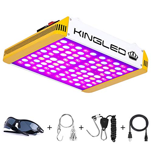 KingLED Reflector Series 1000W LED Grow Light Full Spectrum for Indoor Plants Veg and Flower