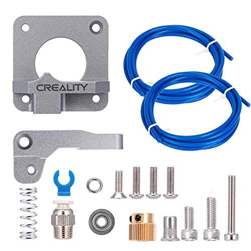 1 Meter F/ür Makerbot Creality CR-10 Ender 3 1,75 mm Filament LUTER Aluminium 3D Drucker MK-8 Extruder Feeder Drive Kit und PEFT-Schlauch aus wei/ßem Teflonrohr