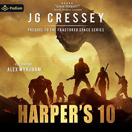 Harper's Ten Audiobook By J.G. Cressey cover art