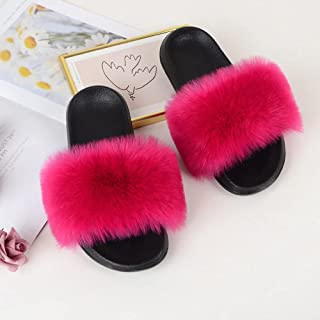 COQUI Ballerines Fille,Mohard Pantoufles Femelle Cool Drag Plages-Rose 2_36-37
