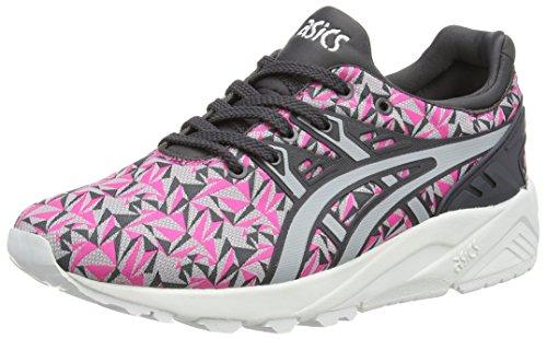 ASICS Gel-Kayano Trainer Evo, Unisex-Erwachsene Sneakers, Pink (Knockout Pink/Light Grey 2013), 44 EU