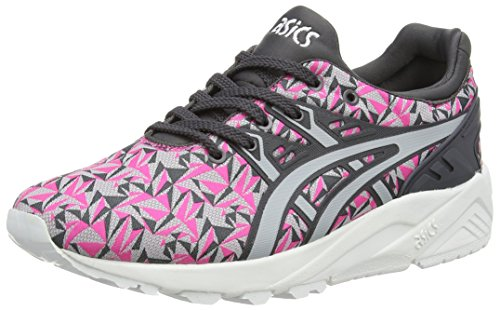 ASICS Unisex-Erwachsene Gel Kayano Trainer Evo H621N-2013 Sneaker, Pink (Knockout Pink/Light Grey 2013), 40 EU