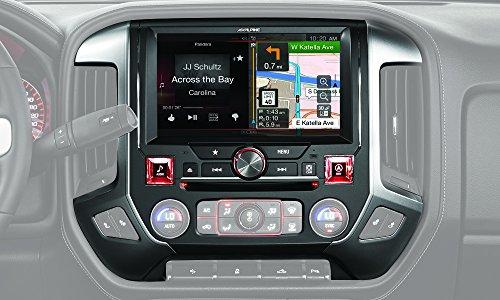 Alpine X110-SRA 10-Inch In-Dash Restyle System for 2014-Up GMC Sierra Trucks