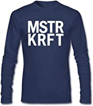 Tommery Men's MSTRKRFT Long Sleeve Cotton T Shirt