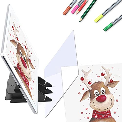 Painting, Drawing & Art Optical Drawing Board Sketch Pads for Cookie Projector Drawing for Zero-Based Wizard for Beginners and Kids,Drawing Board Drawing Tool Projector