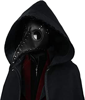 Steel Master Plague Bird Doctor Mask with Goggles Gothic Face Mask Cosplay Mask