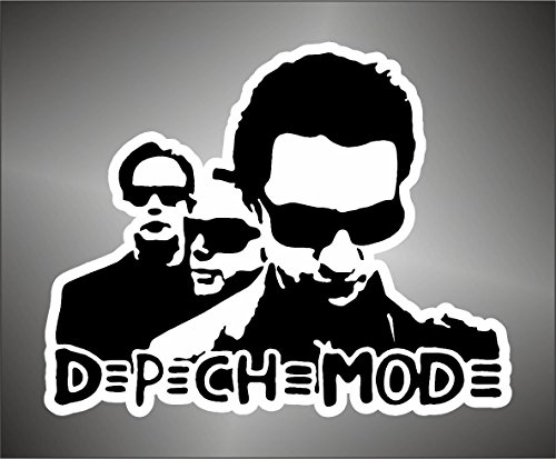 Graphic-lab Aufkleber - Sticker Depeche Mode hip hop Jazz Hard Rock Metal Sticker