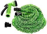 Jukkre 50 Ft Expandable Hose Pipe Nozzle for Garden Wash Car Bike