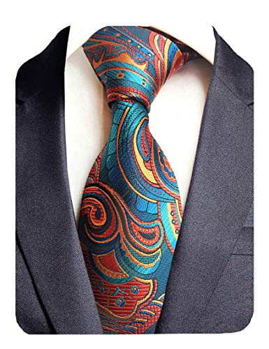 GUSLESON New Design Floral Necktie Luxury Tie for Party(0694-05)