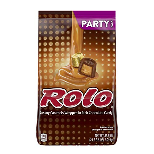 ROLO Caramel Candy with Milk Chocolate, 35.6 Oz